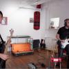 Matte Black on guitar