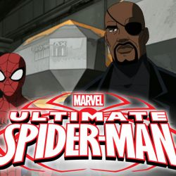 Chi McBride and Spider-Man at MetroSonic