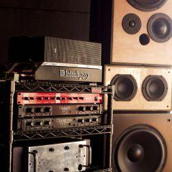 Our custom 5 way Quad amped Speakers