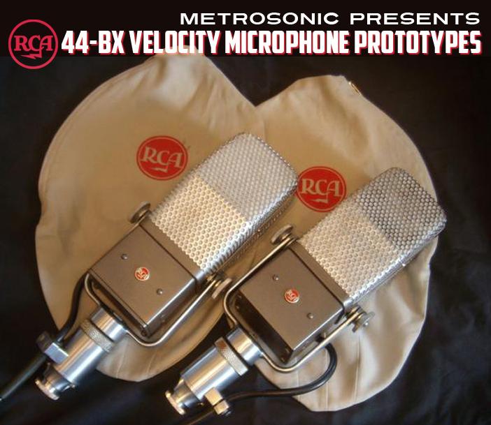 MetroSonic_44BX Microphone Prototypes