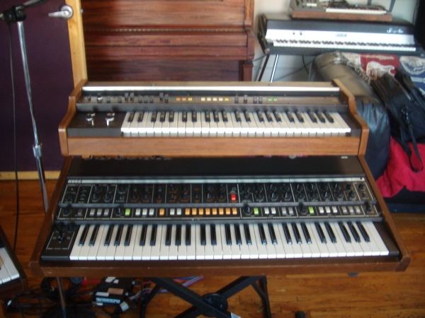 Korg Vocoder Plus VP-330 and Korg Trident