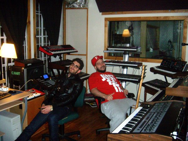 Dave 1 and P-Thugg of Chromeo