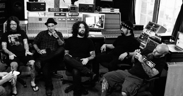 The Damned Things in an interview with Rolling Stone on their debut album at Metrosonic Recording Studio