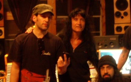 Anthrax at MetroSonic Recording Studios NYC