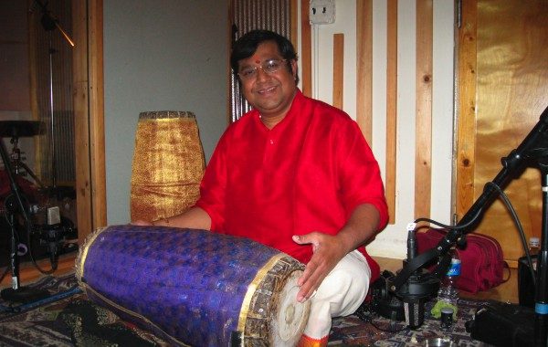 Legendary Percussionist plays for Arun Ramamurthy