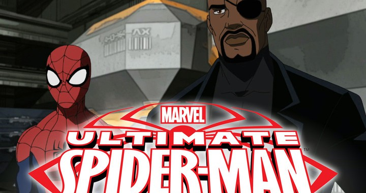 Actor ChimcBride as the voice of NIck Fury in Disney's Ultimate Spider-Man
