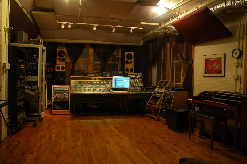 Recording Studio Space Metrosonic Recording Studios Nyc