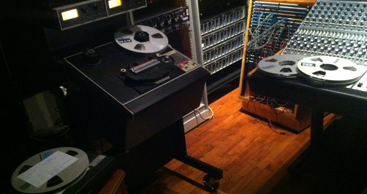 Master tapes for Matte Black