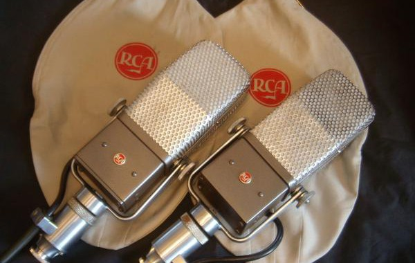 Prototype RCA 44BX Ribbon Microphone, matched pair