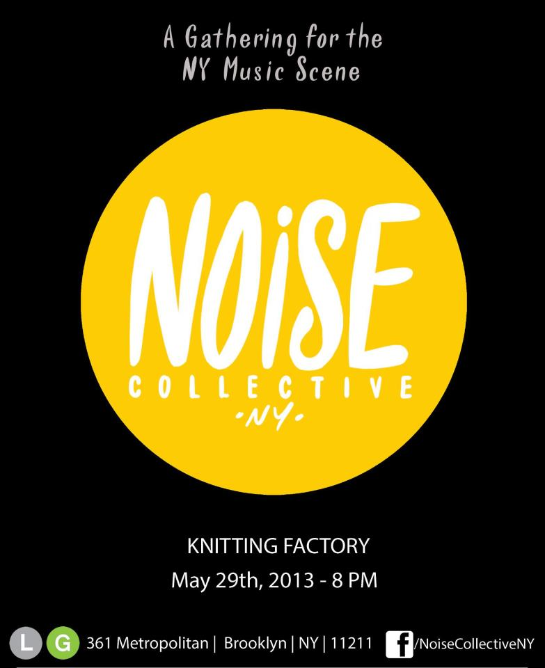 Noise collective flyer
