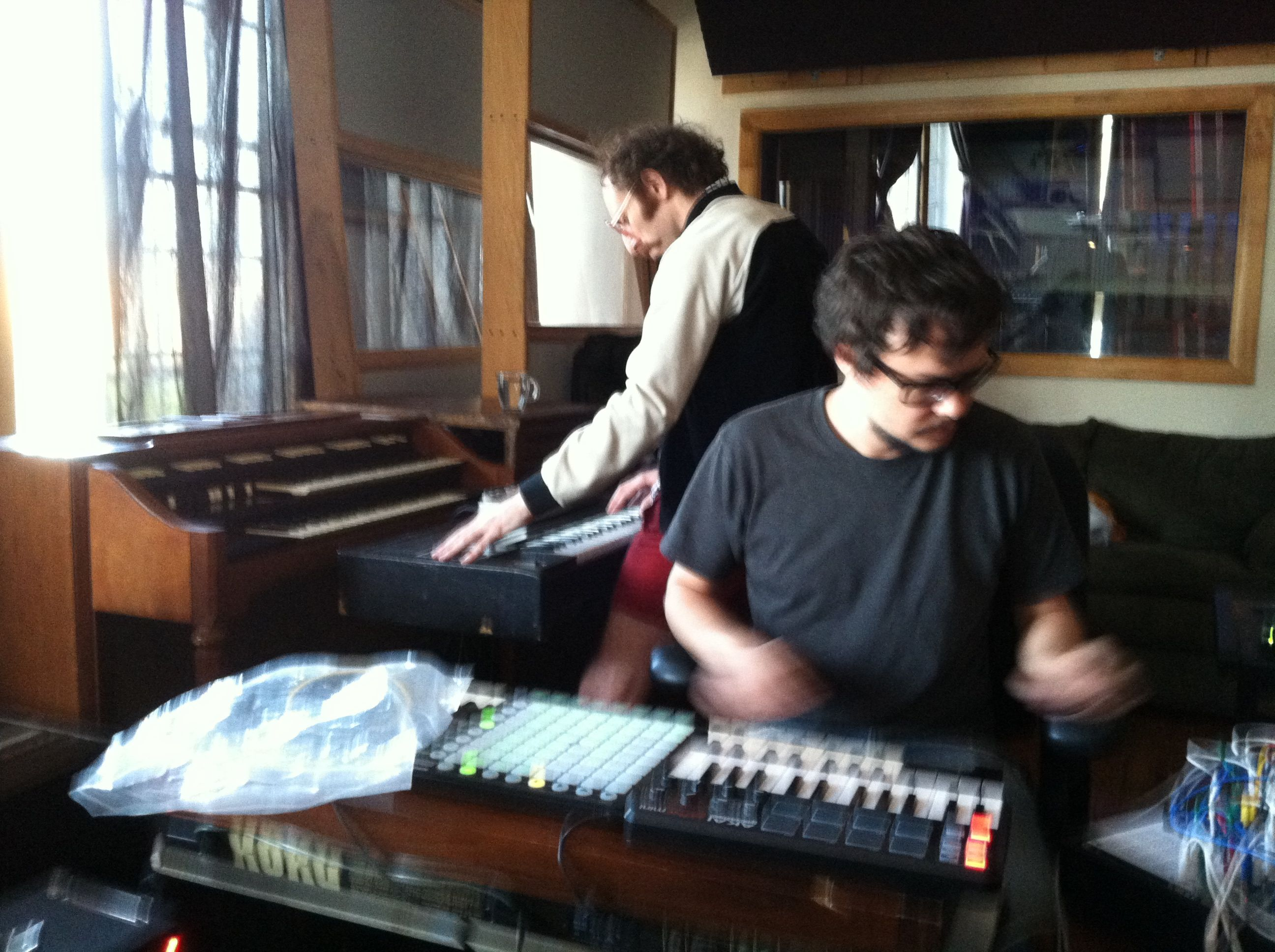 Eyal & Rodrigo recording
