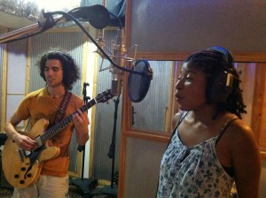 Joelle and Bradley Recording