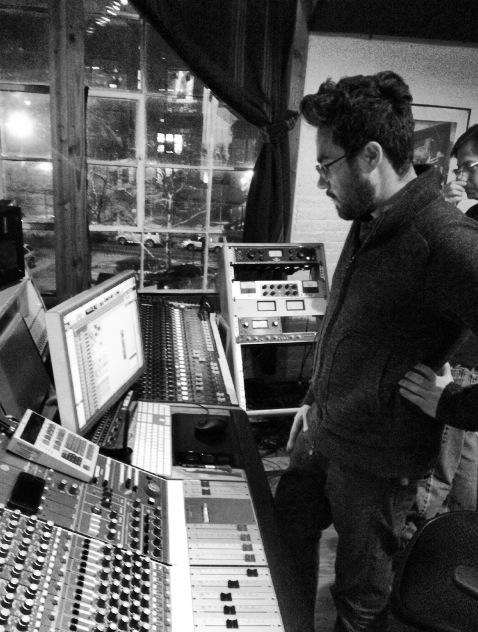 Fireberg in mixing at Metrosonic