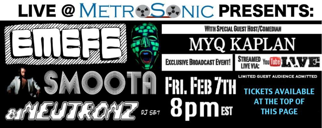 Feb 7 Live@MetroSonic