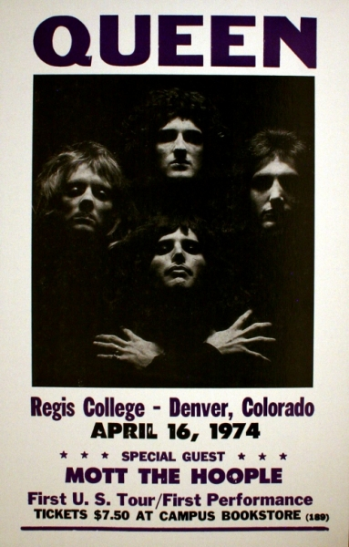 Queen Regis College Poster