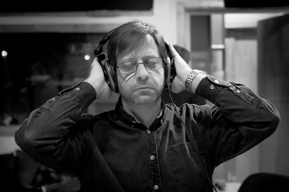 Pete listening back