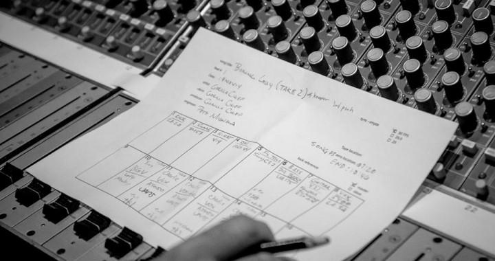 Session Track Sheet