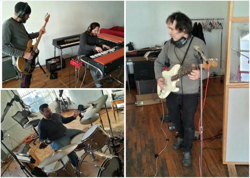 Peter Klarnet, Rob Morrison (Top Left), Pete Martinez (Bottom Left), Viktor Venom (Right)