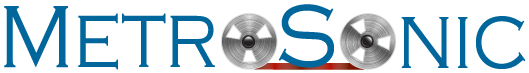 MetroSonic Recording Studios NYC | Best Brooklyn NY Analog Recording Studios Logo