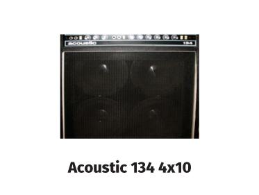 acoustic 134 4x10