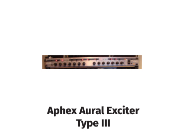aphex aurel exciter type iii