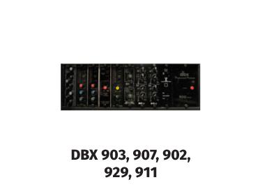 DBX 903, 907, 902, 929, 911