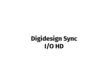 Digidesign Sync I/O HD