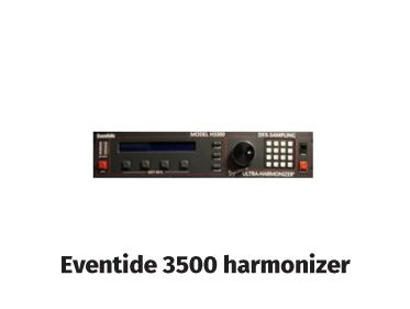 eventide 3500 harmonizer