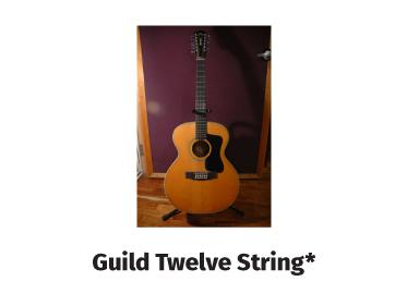guild twelve string