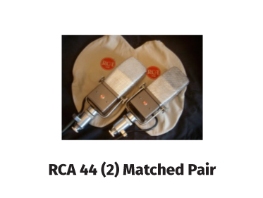 rca 44 (2) matched pair