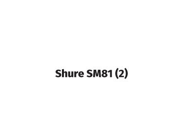 shure sm81 (2)