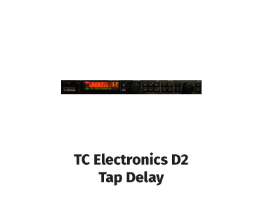 tc electronics d2 tap delay