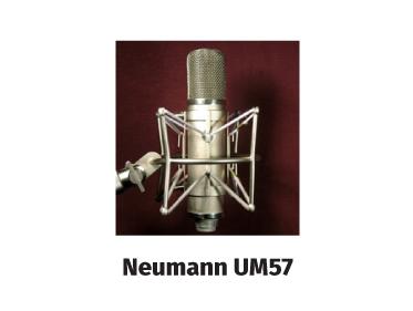 neumann um57 vintage tube mic