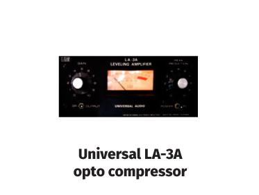 universal la-3a opto compressor