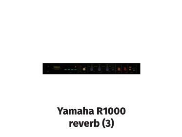 yamaha r1000 reverb